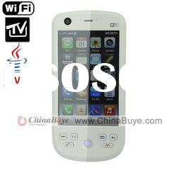 H802 Fashion TV WIFI Mobile Phone with JAVA and Smart G-Sensor White
