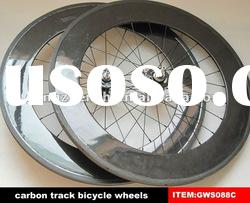 Hot sale & 700c clincher carbon track wheels 88mm with 20/24 holes