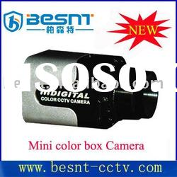 Hot saled all over the world High Quality LED durable outer covering Mini Box cctv camera BS-530C
