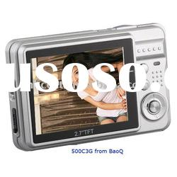 "Low Cost Promotional Gift Best Digital Camera with 2.7"" LCD on Sale"