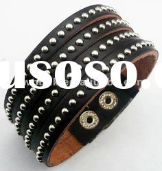 Mixedlot make your own leather bracelet metal clasp for custume jewelry leather bracelets bangles