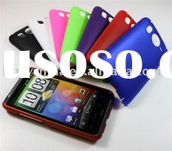 Mobile Phone Accessory Rubber Hard Back Cover Case for HTC Desire HD