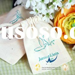 Personalized Natural Cotton Favor Bags