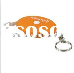 Retractable keyring Promotional Tape Measure/measurinig tool good for promotion