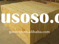 Rock/mineral wool slab as thermal insulation building material