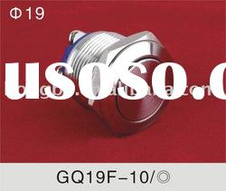 Sell ONPOW metal (push button switch) GQ19F-10 Dia.19mm
