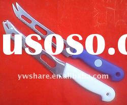 Stainless Steel Cheese Knife With Plastic Handle