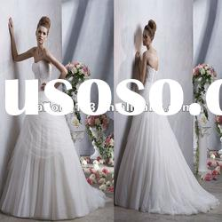 Strapless Sweetheart Ball Gown A-line Popular Bridal Dresses