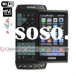 T5000 3.6-inch HVAG Touch Screen TV(support Russia system TV ) JAVA WIFI Cell phone Black