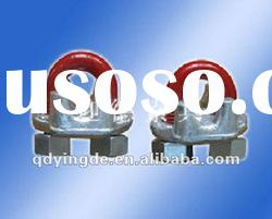 US type drop forged steel wire rope clips