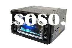 Universal Car DVD Player with GPS DVBT IPOD 6.2 inch touch screen