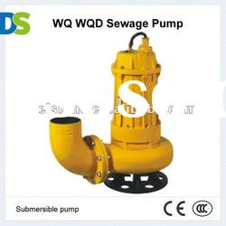 WQ Cast iron or Stainless steel Submersible 15m Sewage Pump centrifugal water pump