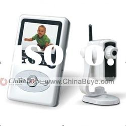 Wireless 2.4 inch TFT LCD Audio Video Receiver Baby Monitor