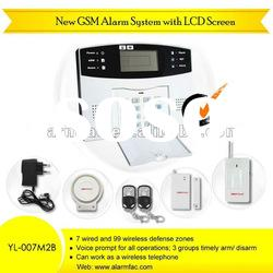 Wireless Gsm Alarm/gsm home alarm system /home security alarm system