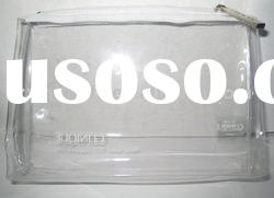 (XHF-PVC-011) clear pvc cosmetic packing bag