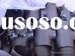 astm a 234 wpb carbon steel pipe fittings seamless Tee/ANSI B16.9