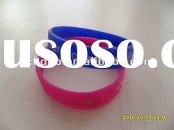 best promotion gift silicone rubber bracelets