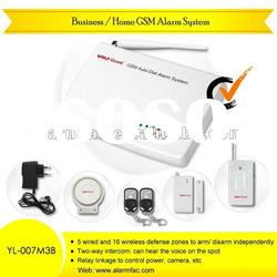 motorcycle alarm system wireless GSM wireless home business security...