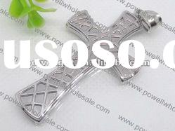 polished cross stainless steel Pendant