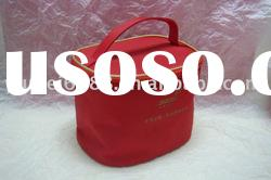 red standing cosmetic packing case