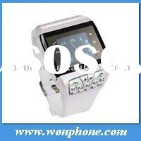 touch screen Q9 dual sim card watch phone with bluetooth camera