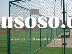 wire mesh fence/pvc coated fence net (factory)