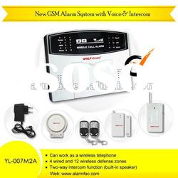 wireless digital home security alarm system/intruder alarm /home security alarm system