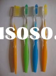 Bicolor Toothbrush With One Injection
