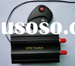 Car GPS tracker real time track on web server with cut oil off function