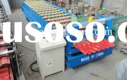 Colored steel roof panel roll forming machine XF100-960