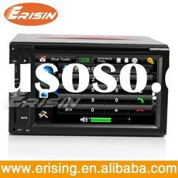 "Erisin 2din Auto DVD Player 6.2"" Radio Bluetooth FM AV-in SD GPS 6.0"