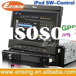 "Erisin UK Stock Single dash Auto DVD Player 7"" GPS ce 6.0 IPod DTV SWC"