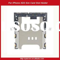 For iPhone 3GS Sim Card Slot Holder Connector Replacement