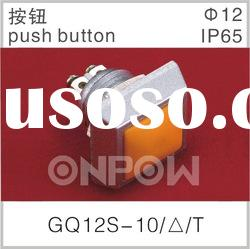 GQ12S-10/T electric pushbutton switch,power switch,power pushbutton switch