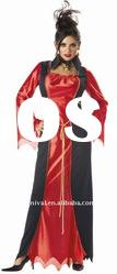 Halloween party costumes/red carnival party costumes/women fancy dress(BSWC-0355)