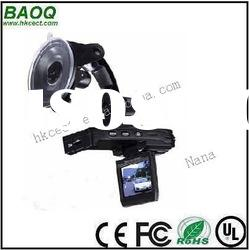 Night vision car camera recorder with 1080P and H.264 video format