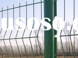 PVC Welded Wire Mesh Fence Panels(factory)