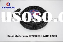 Recoil starter assy For Gasoline Generator Spare Parts Mitsubishi 6.0HP GT600