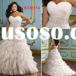 WD0554 Pink Organza Ball Gown Sweetheart Design Your Own Wedding Dress