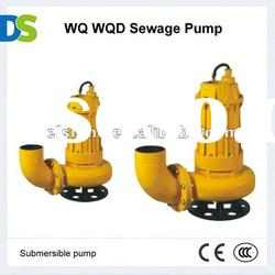 WQ Cast iron or Stainless steel Submersible Sewage Pump