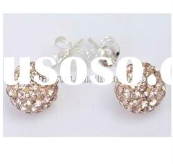 Wholesale Hot Sale Fashion Beaded Shamballa Ear Stud Promotion