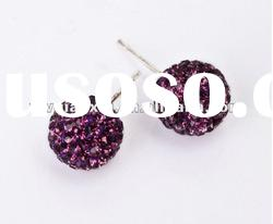 Wholesale Hot Sale Iris Beaded Shamballa Ear Stud Promotion