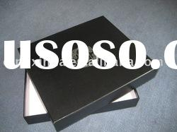 new high-quality black paper packaging boxes