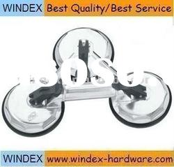 silver color 3 claw glass holder