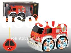4CH R/C dismounting fire truck with light and music