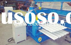 Double layer color steel glazed tile roll Forming Machine XF1000/1000