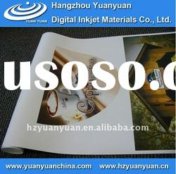 Inkjet Media, White Adhesive PVC (waterproof), Printing Materials