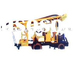 Most Capable and Powerful !!! HF200Z Medium trailer type water well drilling equipment