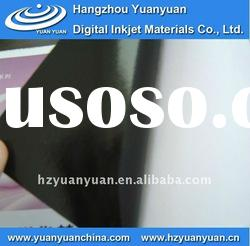 Self Adhesive Vinyl, Inkjet Media, Black Vinyl Film, Printing Materials