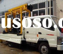 Special Recommended ! Best seller ! Hydraulic geotechnical drilling rig Truck mounted (Model HFT200)